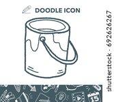 paint doodle | Shutterstock .eps vector #692626267