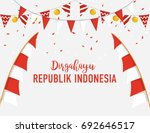 banner or poster template of... | Shutterstock .eps vector #692646517