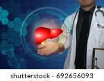 health technology concept... | Shutterstock . vector #692656093