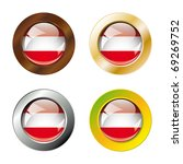 austria shiny buttons flag with ... | Shutterstock .eps vector #69269752