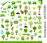 Collection Eco Design Elements...