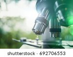 optical microscope is used for... | Shutterstock . vector #692706553