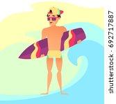 Surfing Summer Vacation  Surfe...