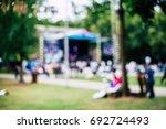 festival blured background | Shutterstock . vector #692724493
