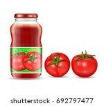 vector illustration in a... | Shutterstock .eps vector #692797477