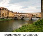 ponte vecchio in firenze  italy   Shutterstock . vector #692800987