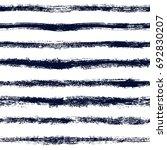 vector brush strokes striped... | Shutterstock .eps vector #692830207