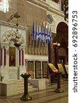 kronstadt  st.petesburg  russia ... | Shutterstock . vector #692896753