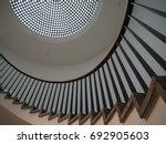 spiral staircase | Shutterstock . vector #692905603