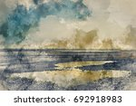 watercolour painting of... | Shutterstock . vector #692918983