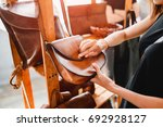 handmade vintage crafted...   Shutterstock . vector #692928127