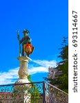 Small photo of The fountain St Florian on Alter Markt in Salzburg. Austria