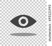 eye icon vector isolated | Shutterstock .eps vector #693121993