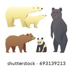 illustration with different... | Shutterstock . vector #693139213