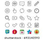 document  time and calendar... | Shutterstock .eps vector #693140593
