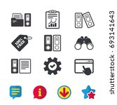 accounting icons. document...