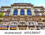 serbia  belgrade   july 26 ...   Shutterstock . vector #693158047