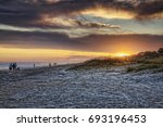 """clouds fog and sunset"" various ... 