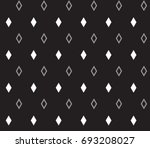 geometric black and white... | Shutterstock .eps vector #693208027