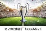 Uefa Cup. Silver Trophy....