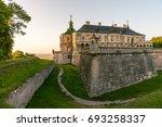 medieval pidhirtsi castle in... | Shutterstock . vector #693258337
