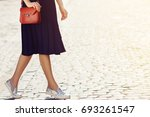 elegant outfit. fashionable... | Shutterstock . vector #693261547