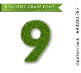 Grass Number Nine. Green Numbe...