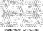 vector abstract boxes... | Shutterstock .eps vector #693263803