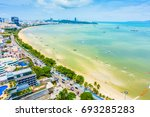 beautiful landscape of pattaya...   Shutterstock . vector #693285283
