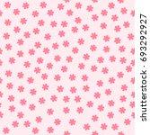 flower background. seamless... | Shutterstock .eps vector #693292927