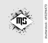 ms logo | Shutterstock .eps vector #693296473