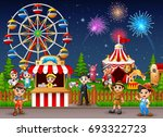 vector illustration of people... | Shutterstock .eps vector #693322723