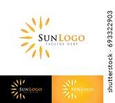 sun logo | Shutterstock .eps vector #693322903