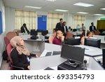 universiti kebangsaan malaysia  ... | Shutterstock . vector #693354793