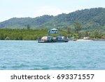 krabi  thailand   march 11 2014 ...   Shutterstock . vector #693371557