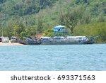krabi  thailand   march 11 2014 ...   Shutterstock . vector #693371563