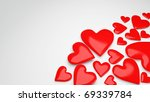 beautiful love background for... | Shutterstock . vector #69339784