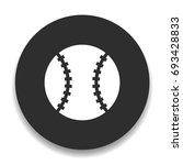 baseball icon   Shutterstock .eps vector #693428833