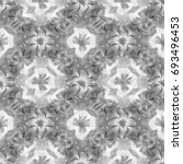 abstract black and white floral ...   Shutterstock . vector #693496453