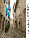 Small photo of Medieval village Lagrasse, located in Languedoc-Roussillon, now called Occitanie, is listed as one of the most beautiful villages of France.