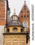 Fragment Of Wawel Cathedral....