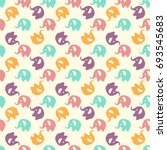 seamless colorful pattern.... | Shutterstock .eps vector #693545683