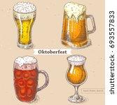 vector linear illustration of... | Shutterstock .eps vector #693557833