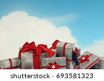 it is great shopping sale.... | Shutterstock . vector #693581323