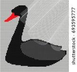 dark background  black large... | Shutterstock .eps vector #693595777