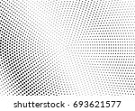 abstract halftone dotted grunge ... | Shutterstock .eps vector #693621577