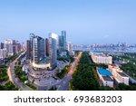 city night | Shutterstock . vector #693683203