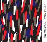modern seamless pattern design...   Shutterstock .eps vector #693714037