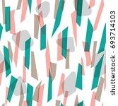 modern seamless pattern design...   Shutterstock .eps vector #693714103
