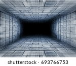 escape tunnel   abstract...   Shutterstock . vector #693766753